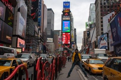 Nueva York Times Square Salto