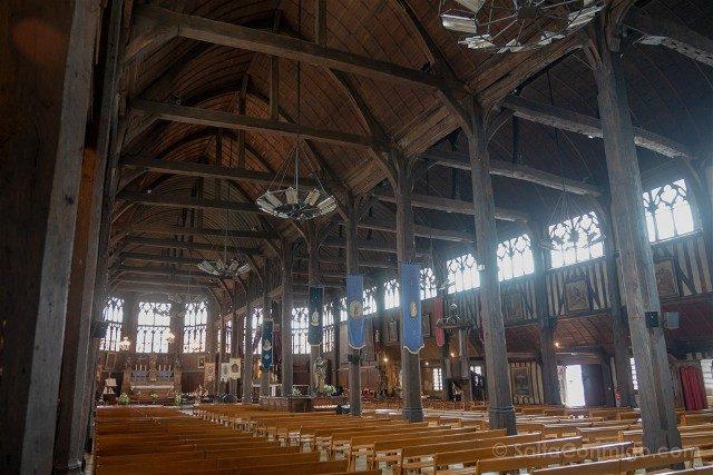 Que ver en Honfleur Iglesia Santa Catalina Interior