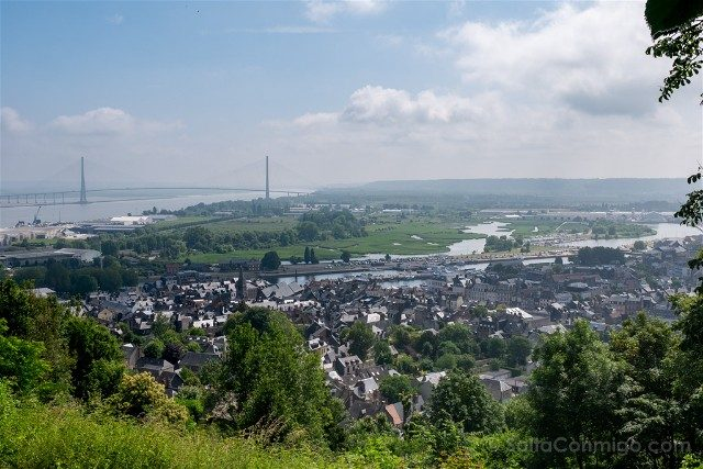 Que ver en Honfleur Vista Mont-Joli Puente Normandia