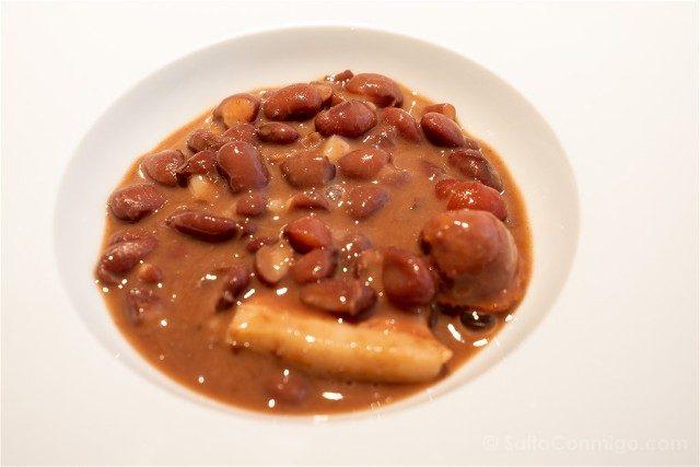 Comer en Pamplona Asador Olaverri Alubias Rojas