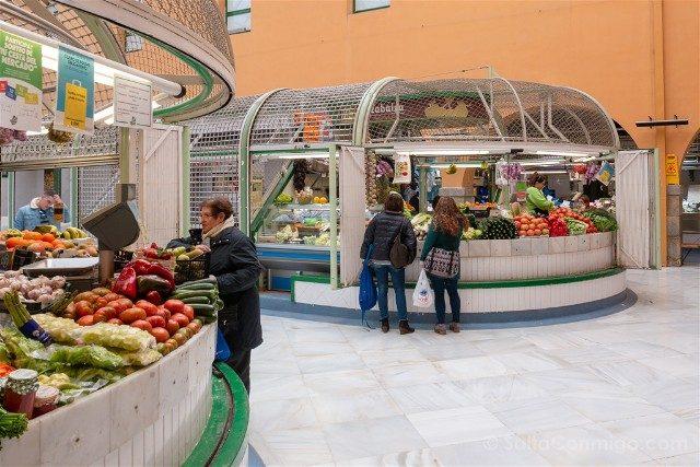 Comer en Pamplona Mercado Santo Domingo