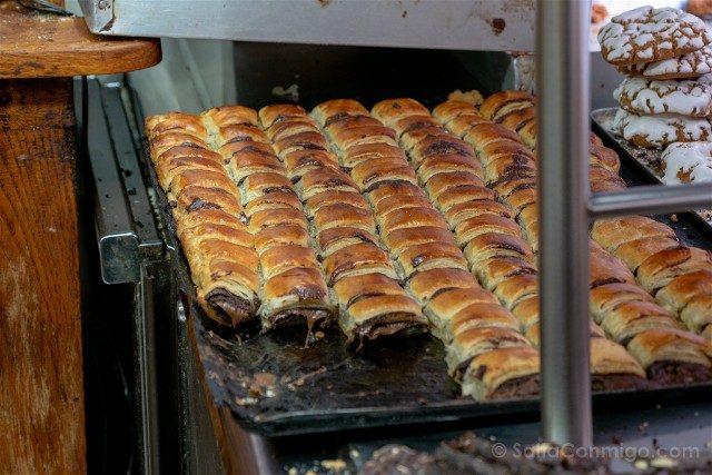 Comer en Pamplona Pastas Beatriz Garroticos