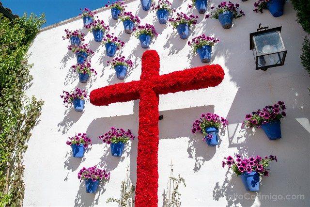 Cruces de Mayo en Cordoba Hermandad Dolores