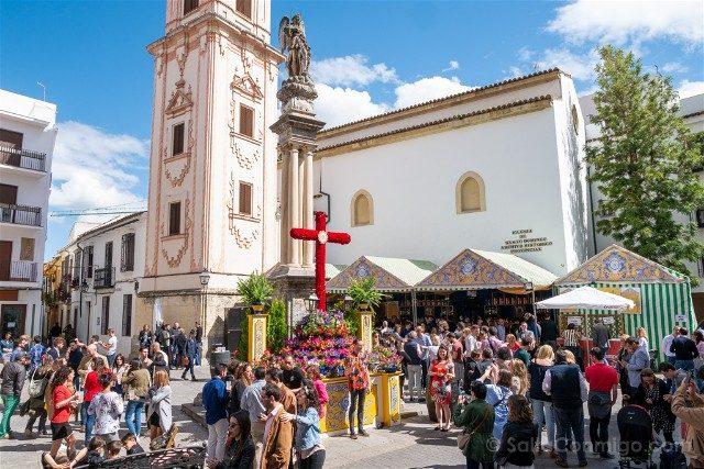 Cruces de Mayo en Cordoba Hermandad Santa Faz General