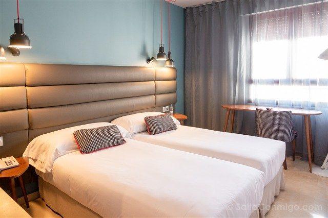 Dormir en Pamplona Hotel Pamplona Plaza Habitacion