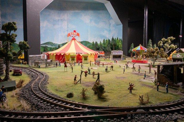 Museos de Wroclaw Kolejkowo Circo