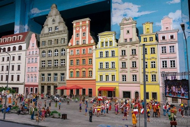Museos de Wroclaw Kolejkowo Plaza Mercado