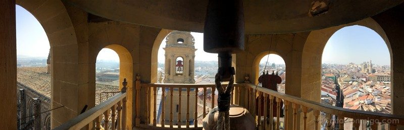 Que ver en Pamplona Catedral Torre Vista