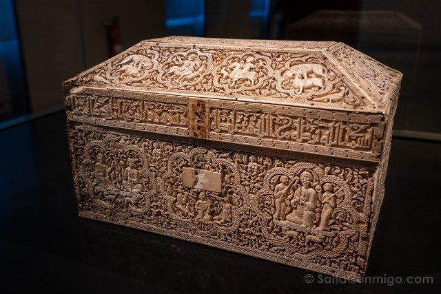 Que ver en Pamplona Museo Navarra Arqueta Leyre