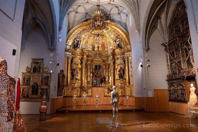 Que ver en Pamplona Museo Navarra Capilla Hospital