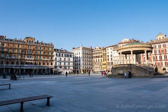 Que ver en Pamplona Plaza Castillo