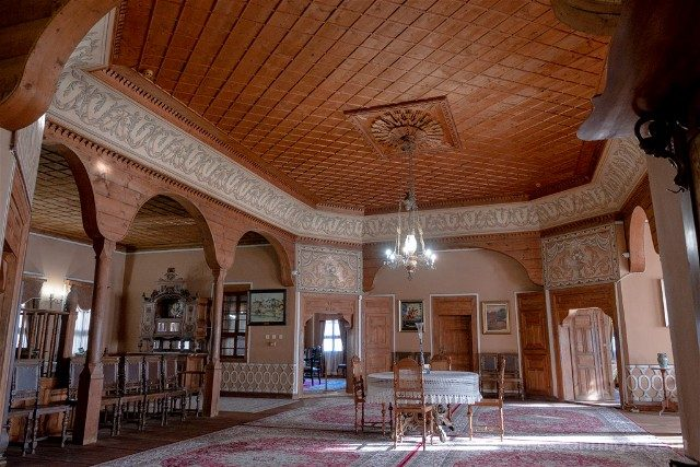 Que ver en Plovdiv Casas Renacimiento Nacional Bulgaro Balabanovd Interior