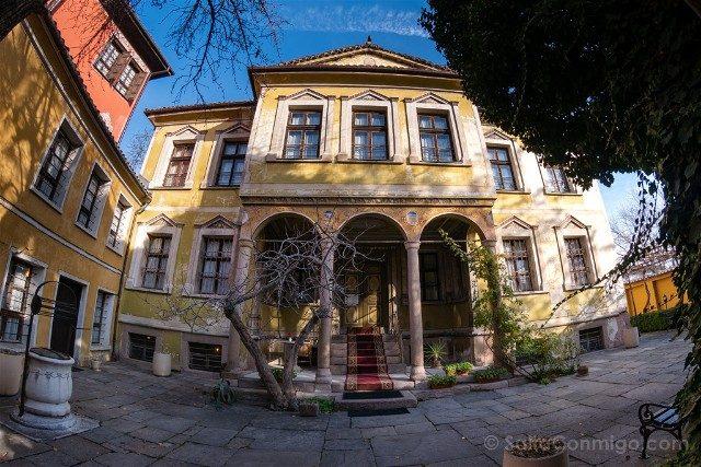Que ver en Plovdiv Casas Renacimiento Nacional Bulgaro Nedkovich