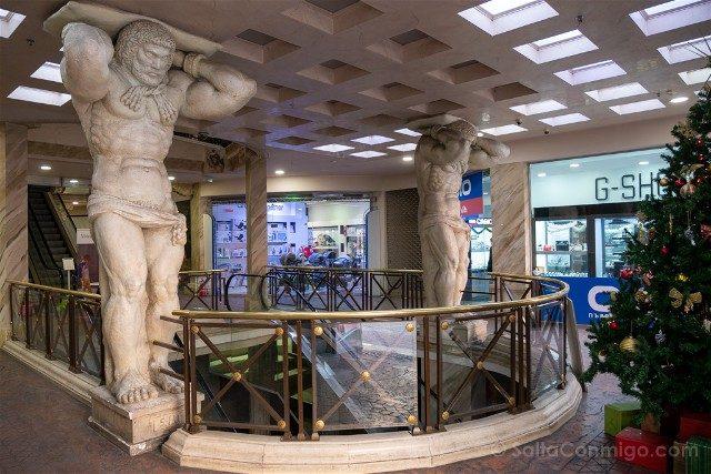 Que ver en Plovdiv Centro Comercial Excelsior
