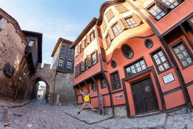 Que ver en Plovdiv Hisar Kapia Salto