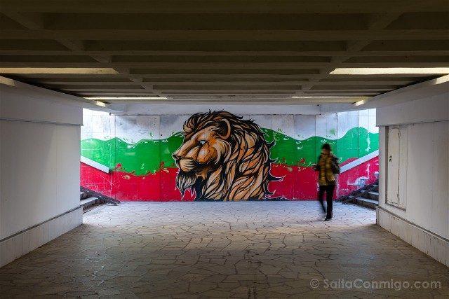 Que ver en Plovdiv Kapana Gafiti Leon