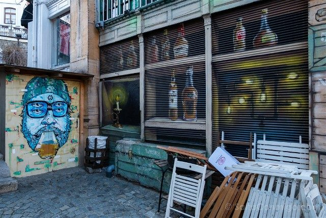Que ver en Plovdiv Kapana Grafiti Bar