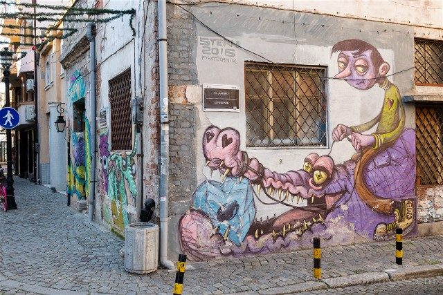 Que ver en Plovdiv Kapana Grafiti