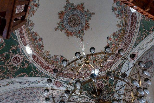 Que ver en Plovdiv Mezquita Dzhumaya Interior Cupula