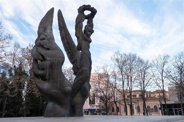 Que ver en Plovdiv Monumento Unificacion Bulgara