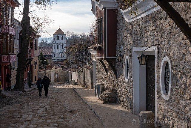 Que ver en Plovdiv Subida Nebet Tepe
