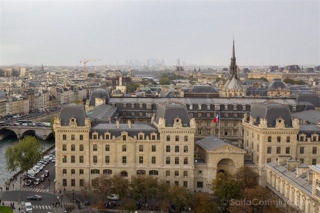 Sainte-Chapelle de Paris Aguja Torre Notre Dame