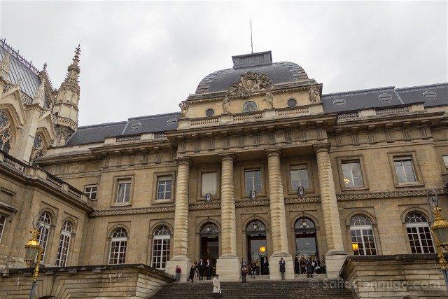Sainte-Chapelle de Paris Palacio Justicia