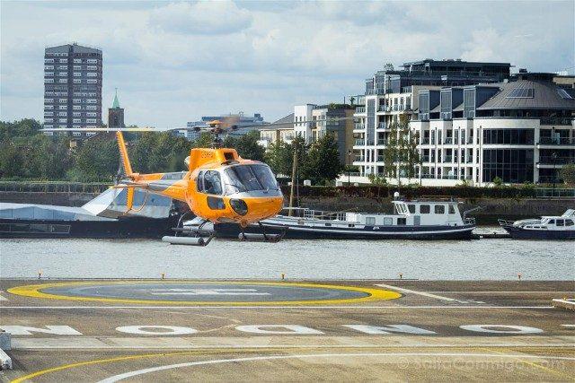 Tour Helicoptero Londres Despegue