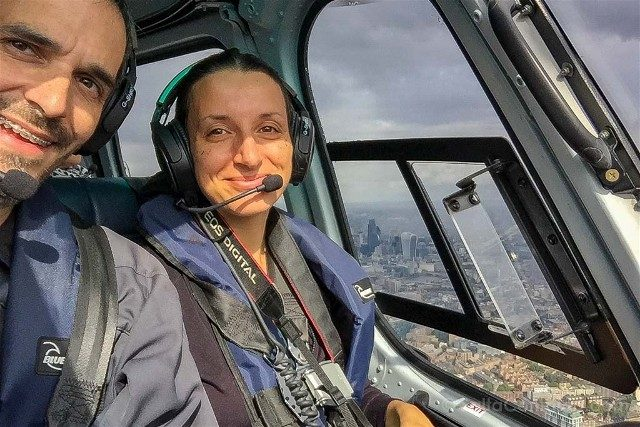 Tour Helicoptero Londres Selfie
