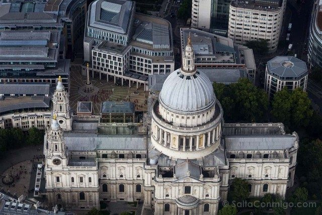 Tour Helicoptero Londres St Paul Cathedral