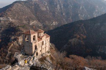 Viajar a Bulgaria Asenovgrad Monasterio Salto