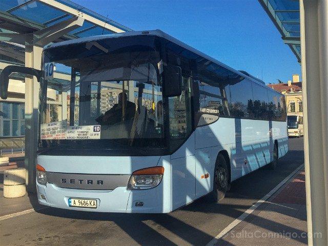 Viajar a Bulgaria Autobus