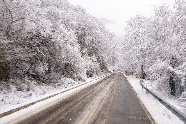 Viajar a Bulgaria Carretera Helada