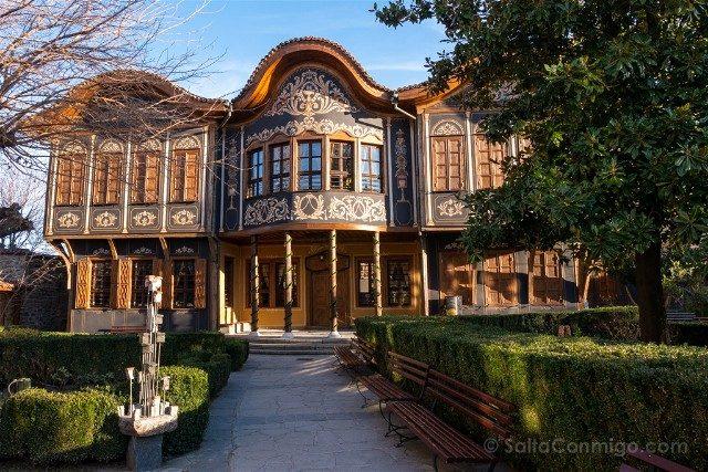 Viajar a Bulgaria Plovdiv Casa Renacimiento