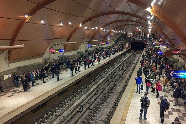 Viajar a Bulgaria Sofia Metro