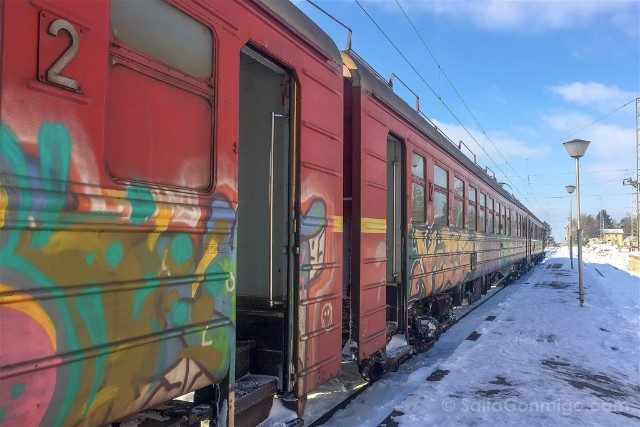 Viajar a Bulgaria Tren Ivanovo