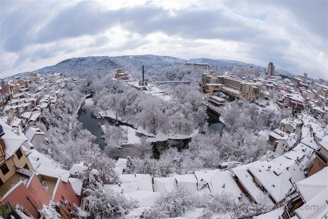 Viajar a Bulgaria Veliko Tarnovo Mirador