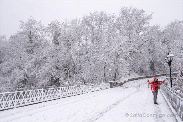 Viajar a Bulgaria Veliko Tarnovo Nieve Sara