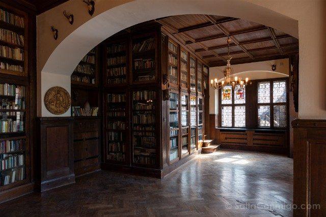 Castillo de Czocha Biblioteca Tudor