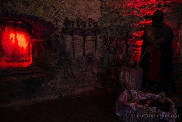 Castillo de Czocha Mazmorra Museo Tortura Verdugo