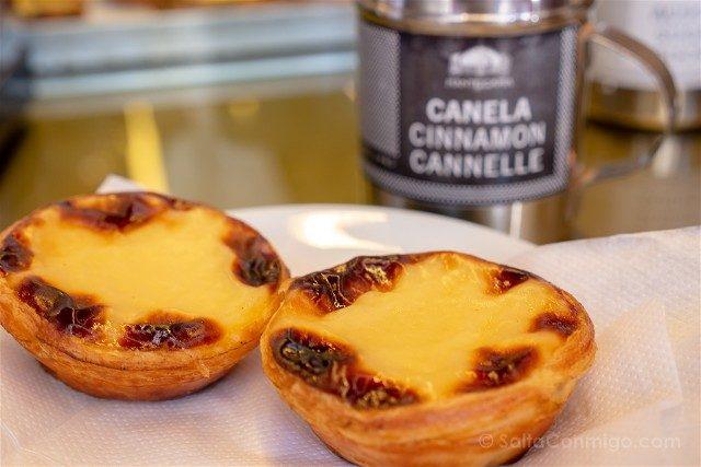 Comer en Lisboa Manteigairia Pasteis de Nata