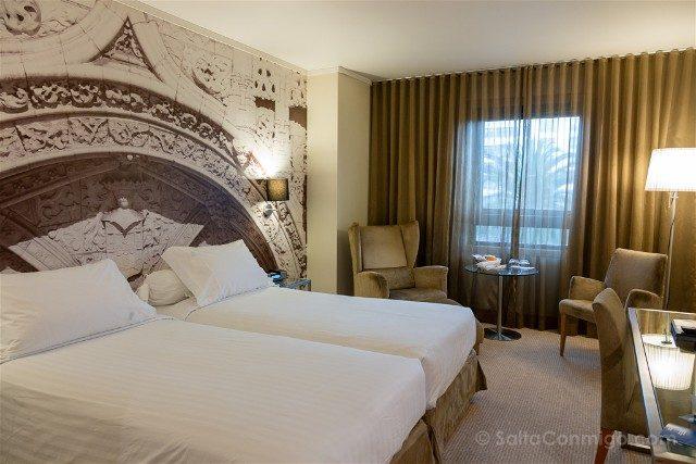 Dormir en Lisboa Hotel Marques Pombal Habitacion