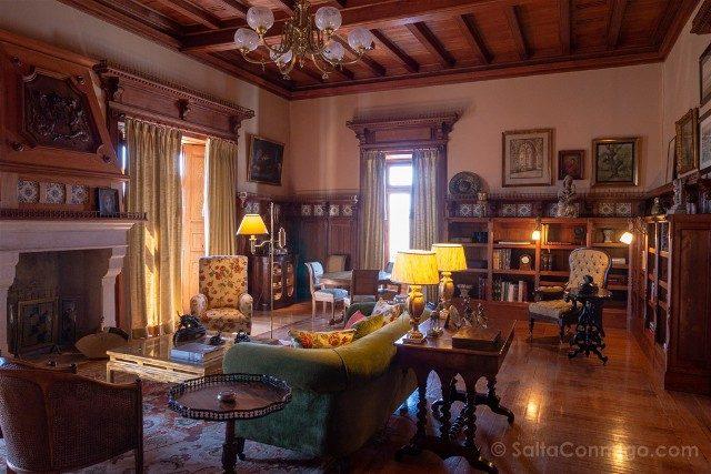 Que ver en Cascais Portugal Ciudadela Palacio Salon