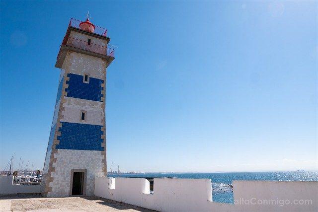 Que ver en Cascais Portugal Faro Santa Marta