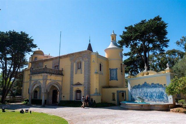 Que ver en Cascais Portugal Museu Condes Castro Guimaraes Fachada