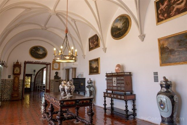 Que ver en Cascais Portugal Museu Condes Castro Guimaraes Sala