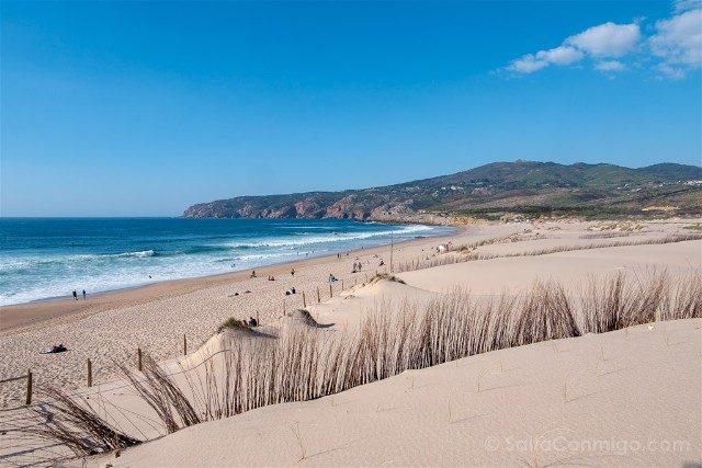 Que ver en Cascais Portugal Playa Guincho Dunas