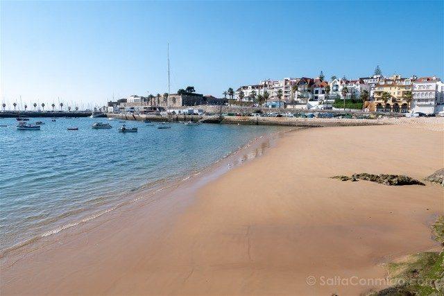 Que ver en Cascais Portugal Playa Urbana