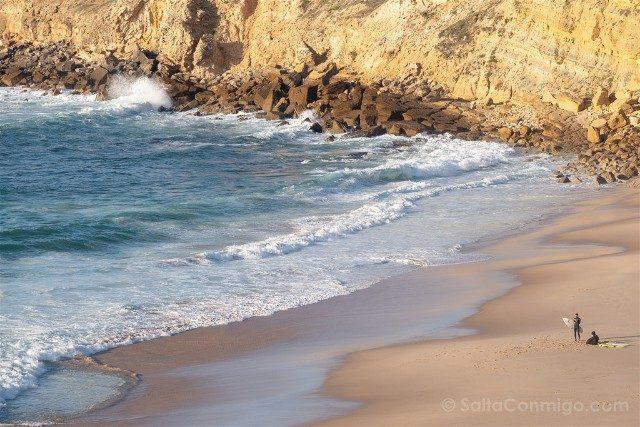 Que ver en Cascais Portugal Praia Pequena Rodicio