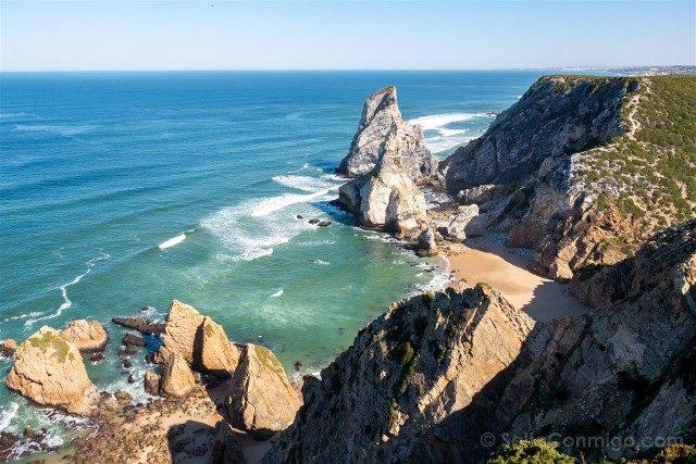 Que ver en Cascais Portugal Praia Ursa